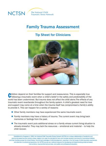 Family Trauma Assessment